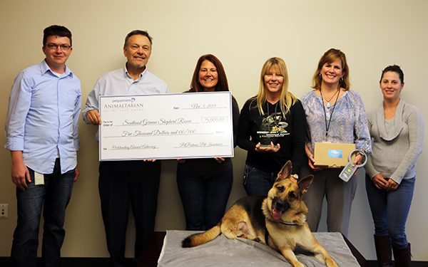 Southeast German Shepherd Rescue - 2015 Animaltarian of the Year