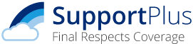 Support plus final respects coverage logo