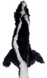 Spot Skinneeez Stuffing Free Plush Skunk Dog Toy